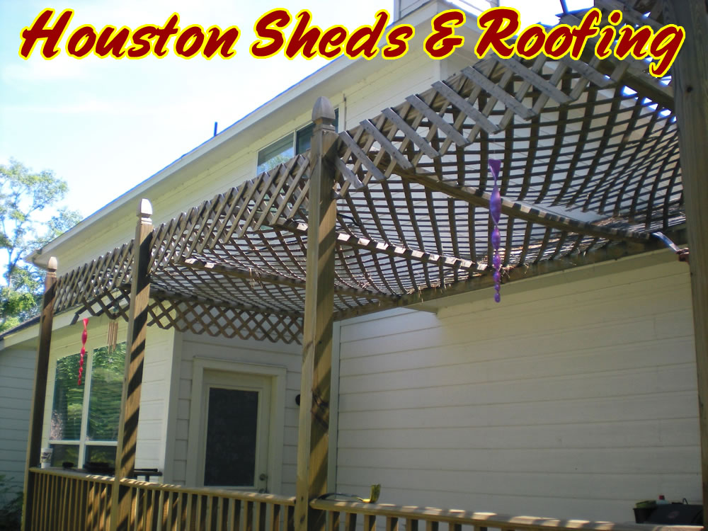 Lattice Roof Amp 6 U2013 Vinyl Pergola Lattice