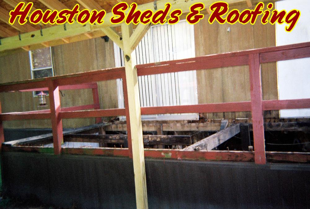 Nami Repairing Wooden Sheds