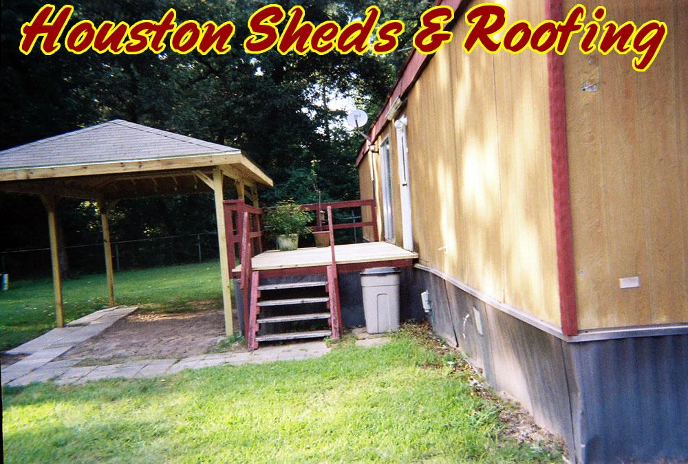 Photos mobile home decks joy studio design gallery for Wooden porches for mobile homes