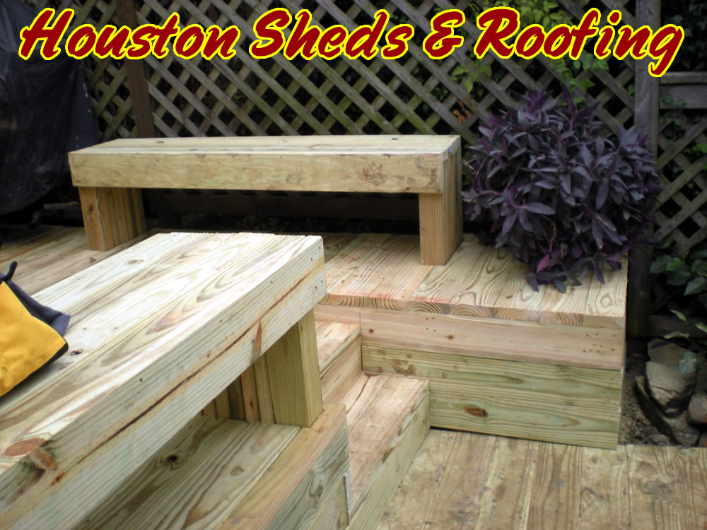Sheds, Fences & Decks: Decks & Patios » Wood Decks » New Deck with