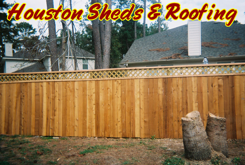 how to add lattice to top of fence