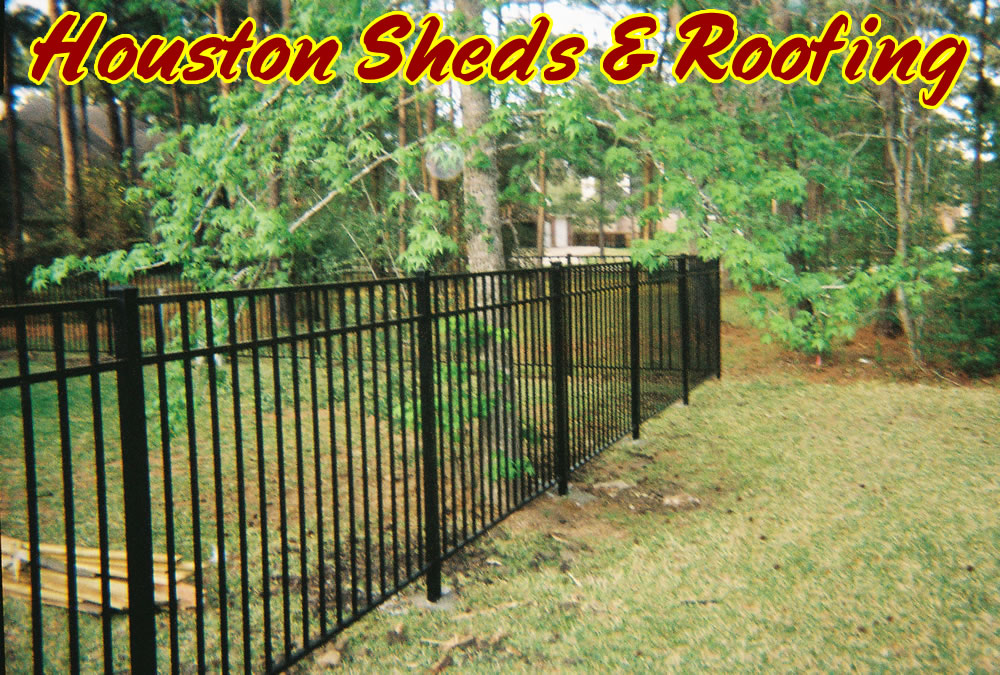 wrought iron fence installation. Wrought Iron Fence Installation D