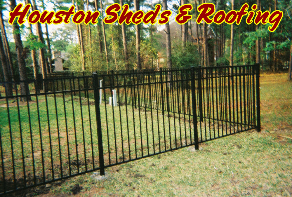 how to install metal fence gate 1
