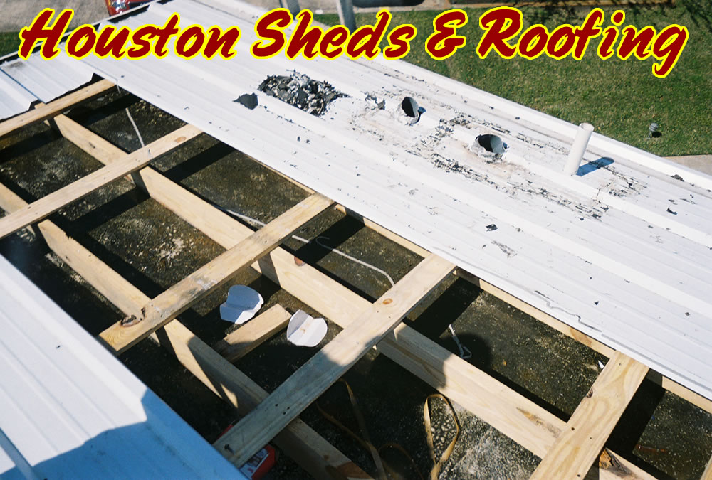 Roof Repair The Woodlands Tx Photos Sheds Patios Roofing Repair Barns | humble tx ...