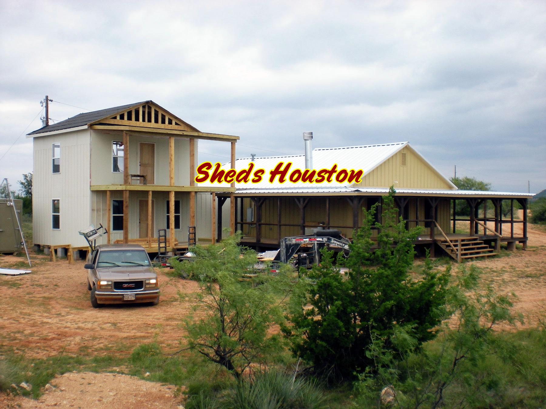 Sheds, Fences & Decks: Sheds » 2 Story Office Building