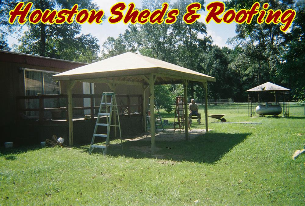 Summers Wood Storage Sheds Houston Details