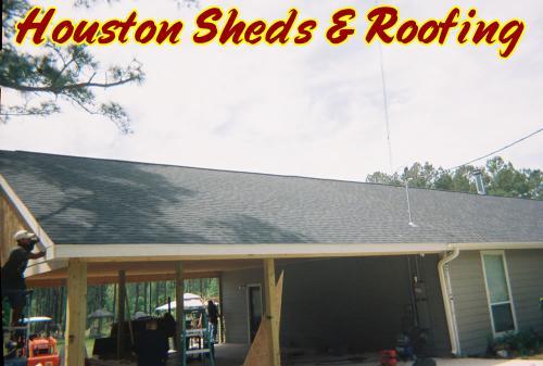 Large Garage / Porch Addition