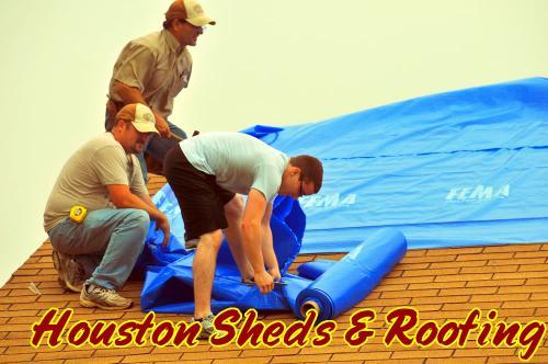 FEMA Roof Repair Blue Tarps