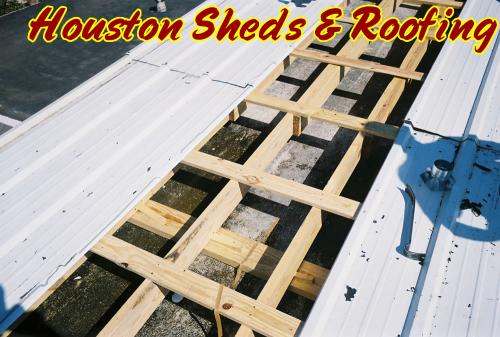 New Metal Roof - Flat to Sloped