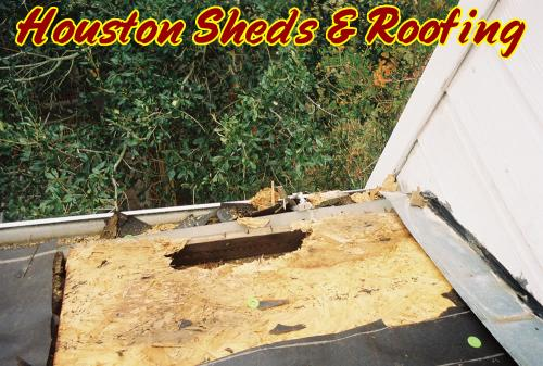 Damaged Roof Repair Houston