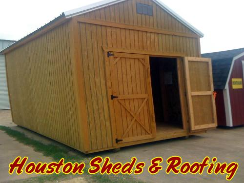 Barn Style Storage Sheds with Loft