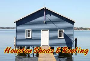 Boat House Construction Houston Conroe Woodlands Lake