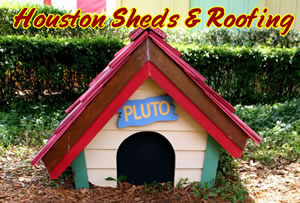 Custom dog houses and duck roosts chicken coop goose for Custom dog houses houston tx