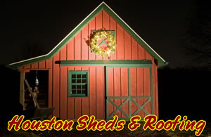 barn style shed installation houston tomball conroe humble