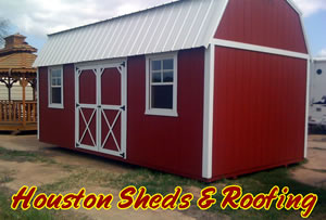 houston barn shed installation on site construction & Houston Storage Sheds | humble tx houston custom sheds built onsite ...
